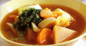 Homemade Winter Vegetable Soup