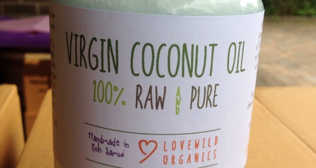 Lovewildorganics Coconut oil